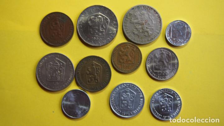 Monedas antiguas de Europa: LOTE 11 MONEDAS CHECOSLOVAQUIA, CHECOESLOVAQUIA. CESKOSLOVENSKA. CESKOSLOVENSKO. CESKO - Foto 2 - 73630819