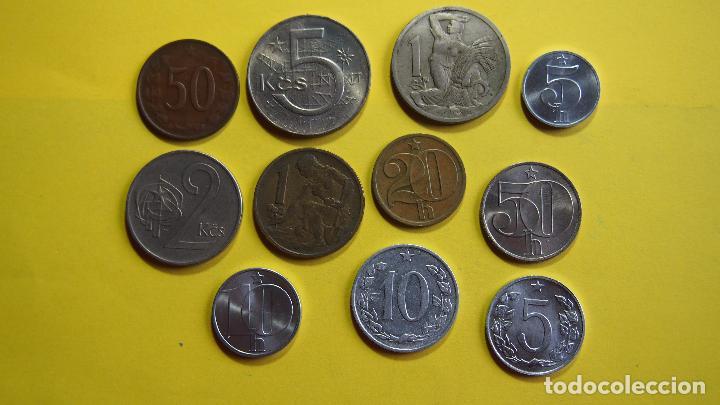 Monedas antiguas de Europa: LOTE 11 MONEDAS CHECOSLOVAQUIA, CHECOESLOVAQUIA. CESKOSLOVENSKA. CESKOSLOVENSKO. CESKO - Foto 3 - 73630819