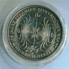 Monedas antiguas de Europa: ALEMANIA 2013 10 EUROS CUPRONICKEL HEINRICH HERTZ. Lote 73960083
