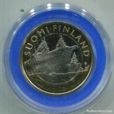 Monedas antiguas de Europa: FINLANDIA 2015 , 5€ BIMETALICA TAVASTIA. Lote 73984735