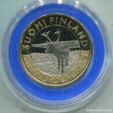 Monedas antiguas de Europa: FINLANDIA 2015 , 5€ BIMETALICA LAPLAND. Lote 73985111