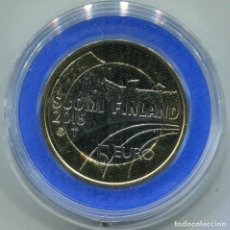 Monedas antiguas de Europa: FINLANDIA 2015 , 5€ BIMETALICA GYMNASTICS. Lote 73985283