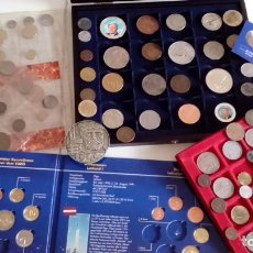 Monedas antiguas de Europa: GRAN LOTE MONEDAS DEL MUNDO IDEAL PARA INICIARSE O AMPLIAR COLECCION MAS DE 1,5 KG. Lote 74369450