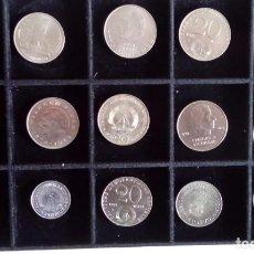 Monedas antiguas de Europa: INTERESANTE LOTE DE 15 MONEDAS DE LA ALEMANIA DEMOCRATICA DDR AÑOS 70. Lote 74374491