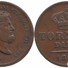 Monedas antiguas de Europa: ITALIA NAPOLES&SICILIA 10 TORNESI 1856. Lote 74969171