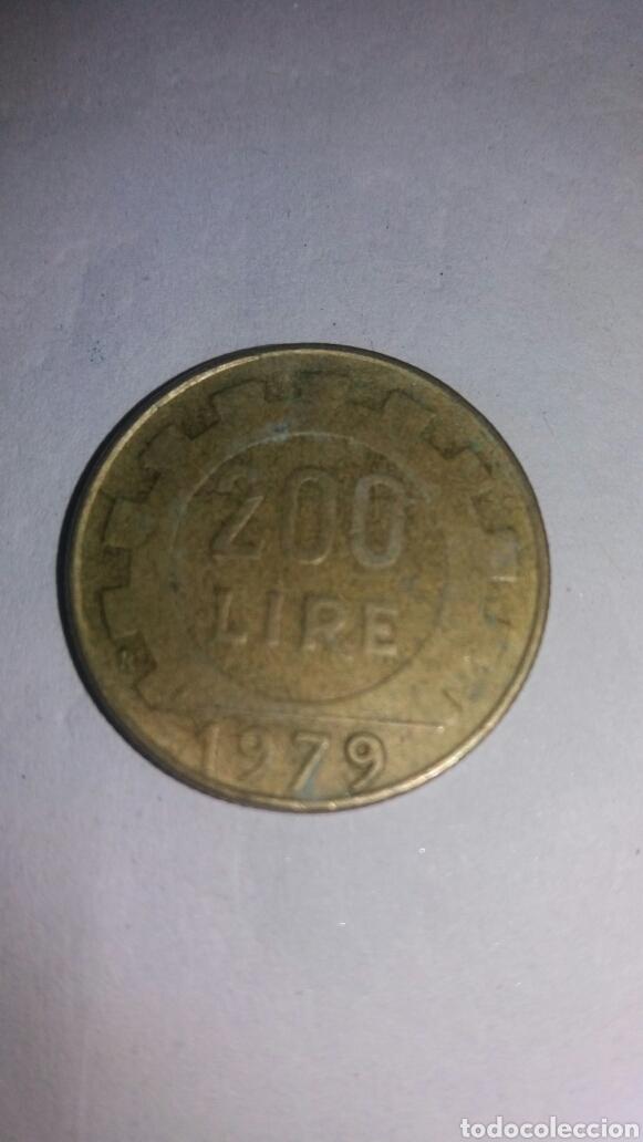 Monedas antiguas de Europa: RÉPLICA ITALIANA 200 LIRE 1979 - Foto 2 - 75188875