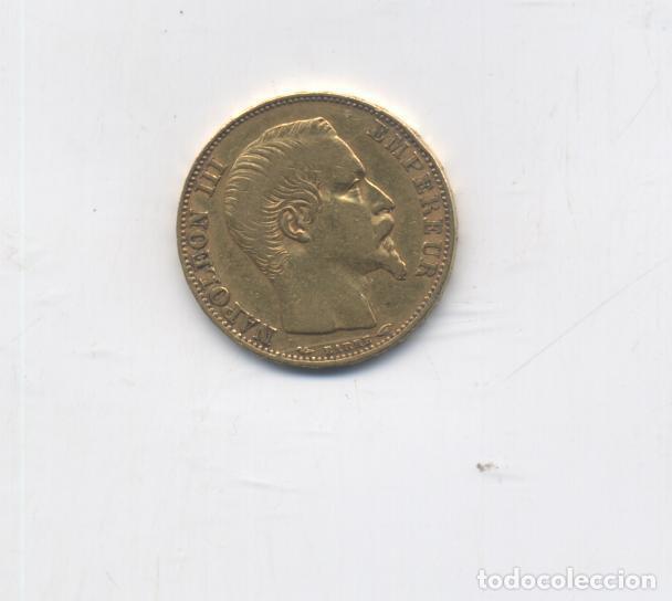 Francia 20 Francos 1854 A Napoleon Iii Oro Comprar Monedas