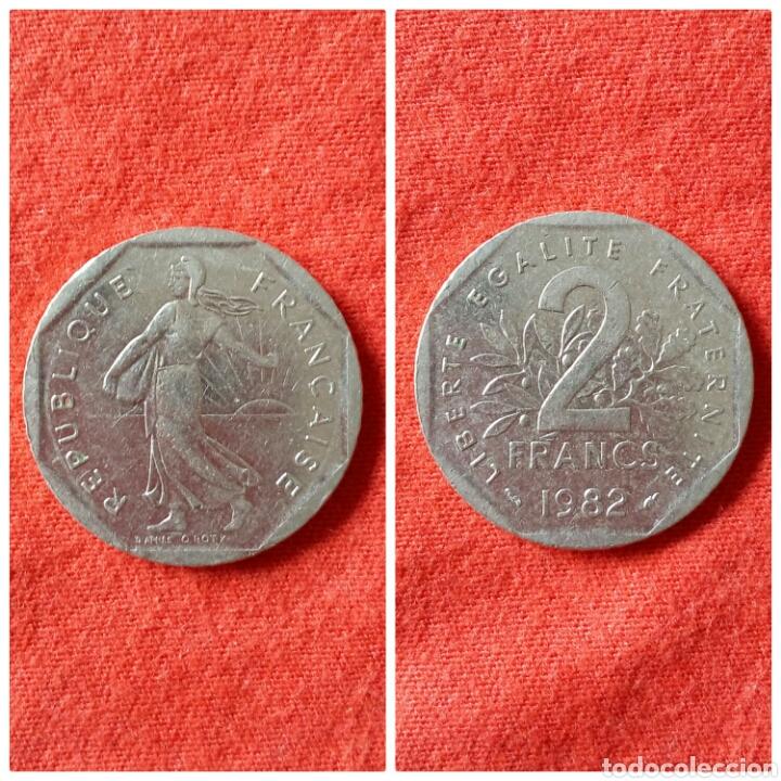 MONEDA DE FRANCIA 2 FRANCOS 1979 (Numismática - Extranjeras - Europa)