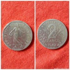 Monedas antiguas de Europa: MONEDA DE FRANCIA 2 FRANCOS 1979. Lote 75996417