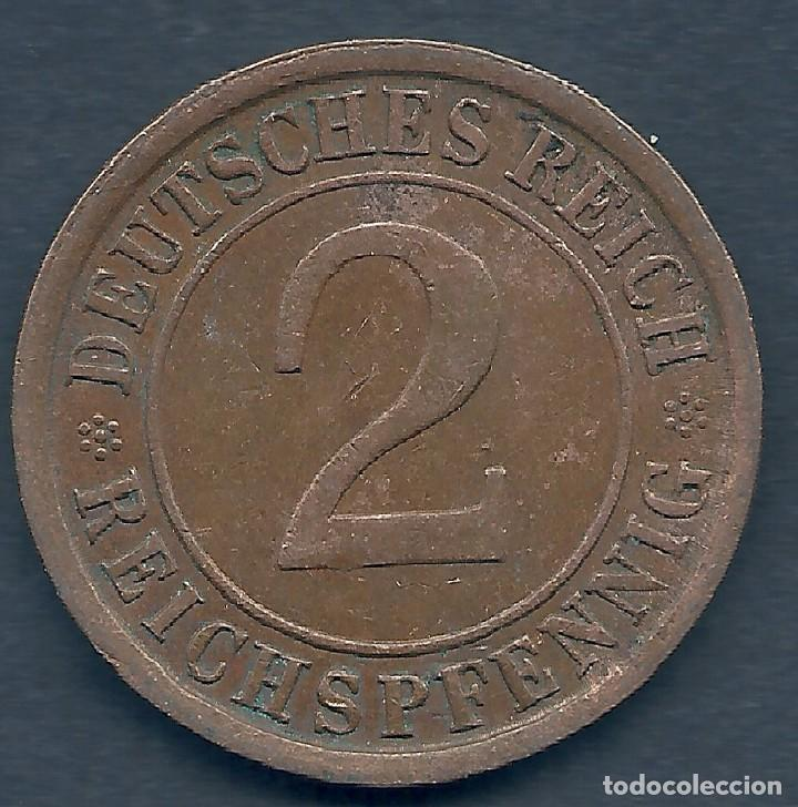 Alemania Deutsches Reich 2 Pfennig 1924 B Comprar Monedas