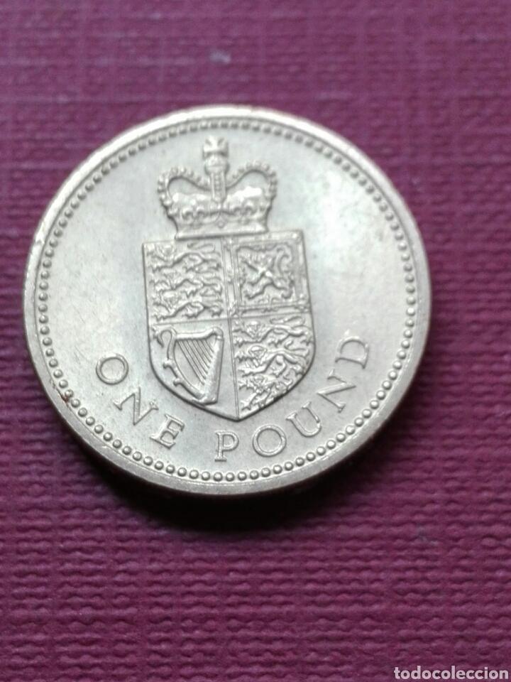 Inglaterra One Pound 1988 Comprar Monedas Antiguas De Europa En