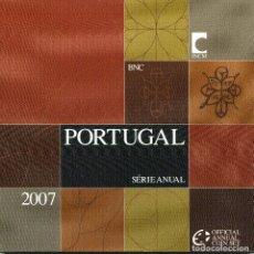 Monedas antiguas de Europa: PORTUGAL CARTERA EURO COIN SET 2007 OFFICIAL ISSUE. Lote 76970201