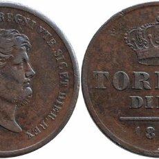 Monedas antiguas de Europa: ITALIA NAPOLES & SICILIA 10 TORNESI 1857. Lote 77328909