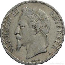 Monedas antiguas de Europa: FRANCIA 5 FRANCOS 1867 BB STRASSBOURG NAPOLEÓN II. Lote 77738921