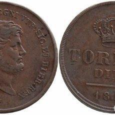 Monedas antiguas de Europa: ITALIA NAPOLES & SICILIA 10 TORNESI 1854. Lote 78149885