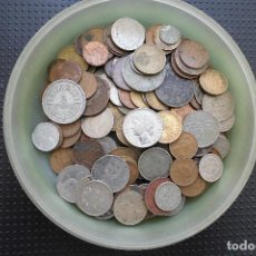 Monedas antiguas de Europa: MONEDAS MUNDIALES AL PESO. MONEDAS EXTRANJERAS POR KILOS. Lote 194904083