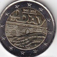 Monedas antiguas de Europa: 2 € EUROS - FRANCIA 2014 - 70º ANIVERSARIO DEL DÍA D - PEDROIG - SIN CIRCULAR. Lote 109508772