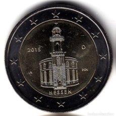 Monedas antiguas de Europa: 2 € EUROS - ALEMANIA 2015 - IGLESIA DE SAN PABLO EN FRANKFURT (CECA A) - PEDROIG - SIN CIRCULAR. Lote 109508662
