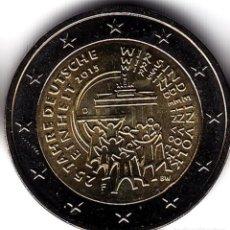 Monedas antiguas de Europa: 2 € EUROS - ALEMANIA 2015 - 25 ANIVERSARIO REUNIFICACIÓN ALEMANA - PEDROIG - SIN CIRCULAR. Lote 109508723