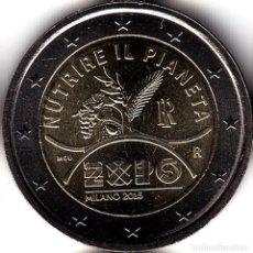 Monedas antiguas de Europa: 2 € EUROS - ITALIA 2015 - EXPO 2015, EXPOSICIÓN UNIVERSAL DE MILÁN - PEDROIG - SIN CIRCULAR. Lote 109508707