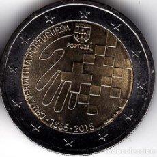 Monedas antiguas de Europa: 2 € EUROS - PORTUGAL 2015 - 150 AÑOS DE LA CRUZ ROJA PORTUGUESA - PEDROIG -SIN CIRCULAR. Lote 109508691