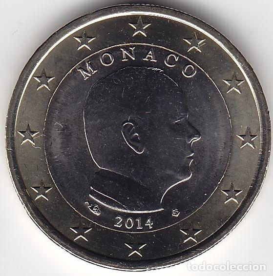 1 € EURO - MÓNACO 2014 - PEDROIG - SIN CIRCULAR (Numismática - Extranjeras - Europa)