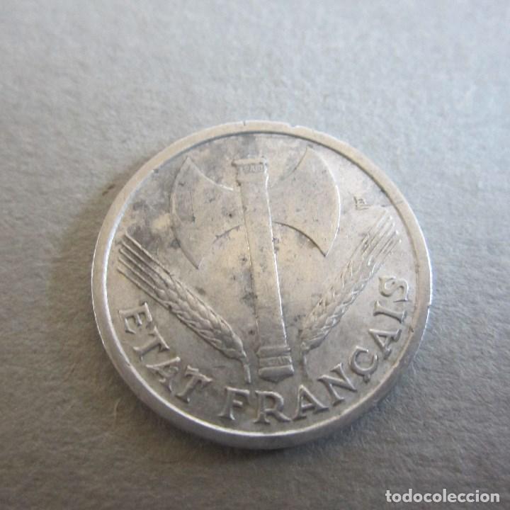 FRANCIA. 1 FRANCO. 1943. ALUMINIO. TEMA II GUERRA MUNDIAL (Numismática - Extranjeras - Europa)