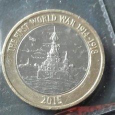 Monedas antiguas de Europa: 2 LIBRAS ESTERLINAS 2015. Lote 80011913