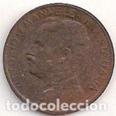 Monedas antiguas de Europa: ITALIA - 1 CENT 1913 - KM#40. Lote 81577540