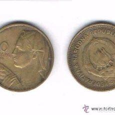Monedas antiguas de Europa: MONEDA DE YUGOSLAVIA, 1955, 10 DINARA (LOTE 2). Lote 81869328