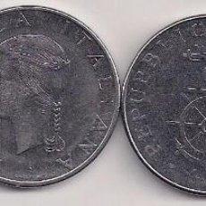 Monedas antiguas de Europa: ITALIA - 4 MONEDAS CONMEMORATIVAS DE 1 LIRA - 1974-79-81-95 - KM#102-106-108-180. Lote 81883964