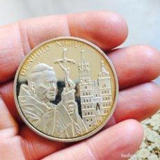 Monedas antiguas de Europa: MALTA 100 LIRAS 2005 PLATA, JUAN PABLO II. Lote 83012779