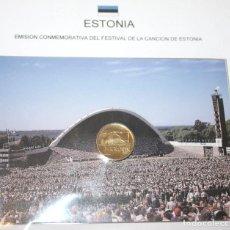 Monedas antiguas de Europa: ESTONIA 1 CORONA 1999 EMISIÓN CONMEMORATIVA DEL FESTIVAL DE LA CANCIÓN DE ESTONIA. Lote 83071924