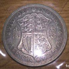 Monedas antiguas de Europa: REINO UNIDO. MEDIA CORONA DE PLATA DE 1935. Lote 83517532