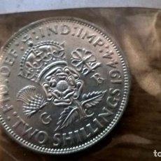Monedas antiguas de Europa: REINO UNIDO. 2 CHELINES DE PLATA DE 1944. EF. SC. Lote 83520576