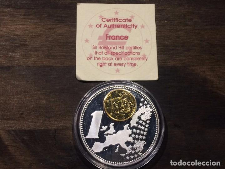 Moneda Conmemorativa De Europa Francia Con 1 Comprar Monedas