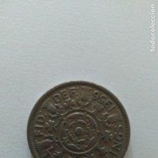 Monedas antiguas de Europa: MONEDA 2 CHELINES GIBRALTAR ISABEL II. Lote 84815632