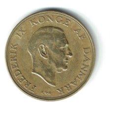 Monedas antiguas de Europa: DINAMARCA 1 CORONA 1958 1 KRONE - FEDERICO FREDERIK IX . Lote 85143032
