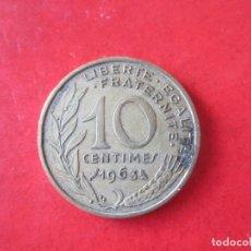 Monedas antiguas de Europa: FRANCIA. 10 CENTIMOS DE 1963. Lote 85526880