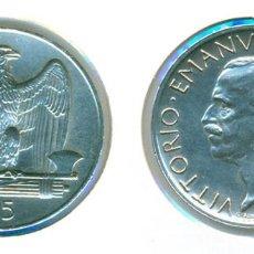 Monedas antiguas de Europa: ITALIA 5 LIRAS 1929 (EBC-) - VITTORIO EMANUELE III - PLATA. Lote 85784744