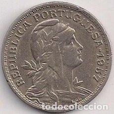 Monedas antiguas de Europa: PORTUGAL - 50 CENTAVOS 1957 - KM#577. Lote 85844500
