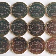 Monedas antiguas de Europa: LOTE DE 12 MONEDAS DE 1 EURO DE ANDORRA. Lote 86135008