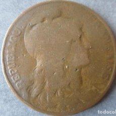 Monedas antiguas de Europa: FRANCIA.- MONEDA DE 10 CENTIMOS. 1912. Lote 86300116