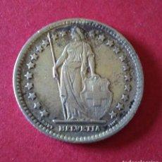 Monedas antiguas de Europa: SUIZA. 1 FRANCO DE 1943. PLATA.5 GRAMOS.. Lote 86483908
