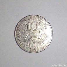 Monedas antiguas de Europa: FRANCIA 10 FRANCOS 1986 CONMEMORATIVA JIMENEZ-TIPO UNICO KRAUSE KM# 959. Lote 160301654