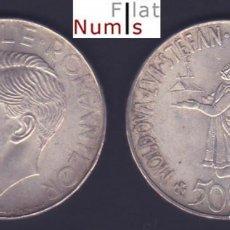 Monedas antiguas de Europa: RUMANIA - 500 LEI - 1941 - SIN CIRCULAR - PLATA. Lote 86852068