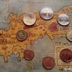 Monedas antiguas de Europa: BLISTER CONMEMORATIVO A LA ENTRADA DE CHIPRE EN EL EURO 2008 DEL CENTRAL BANK OF CYPRUS. Lote 86985472
