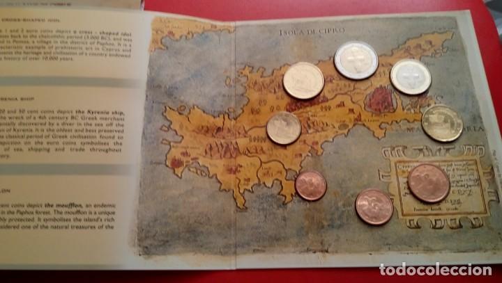 Monedas antiguas de Europa: BLISTER CONMEMORATIVO A LA ENTRADA DE CHIPRE EN EL EURO 2008 DEL CENTRAL BANK OF CYPRUS - Foto 2 - 86985472
