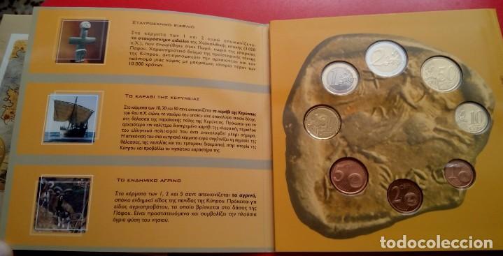 Monedas antiguas de Europa: BLISTER CONMEMORATIVO A LA ENTRADA DE CHIPRE EN EL EURO 2008 DEL CENTRAL BANK OF CYPRUS - Foto 3 - 86985472