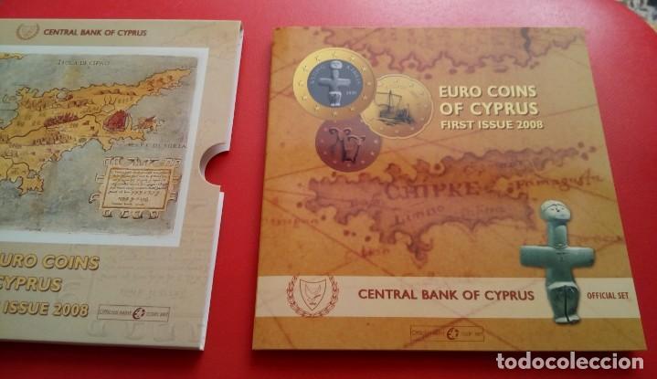 Monedas antiguas de Europa: BLISTER CONMEMORATIVO A LA ENTRADA DE CHIPRE EN EL EURO 2008 DEL CENTRAL BANK OF CYPRUS - Foto 5 - 86985472